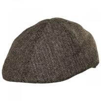 Herringbone Wool Blend Duckbill Ivy Cap