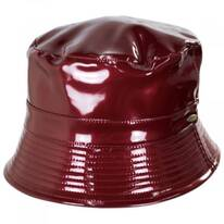 Pluie Faux Leather Rain Bucket Hat
