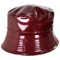 Pluie Faux Leather Rain Bucket Hat