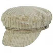 Ashland Cotton Corduroy Fiddler's Cap