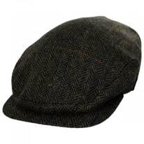Fabian Earflap Herringbone Wool Ivy Cap