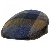 Donegal Squares Herringbone Tweed Wool Ivy Cap