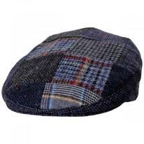 Donegal Patchwork Harris Tweed Wool Ivy Cap