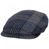 British Mix Plaid Wool Ivy Cap