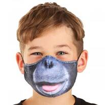 Chimpanzee Dye Sublimated Face Cover