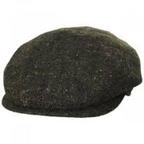 Magee Dark Green Tweed Lambswool Ivy Cap