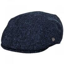 Harris Tweed Herringbone Wool Ivy Cap