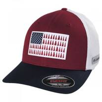 Tree Flag Mesh Flexfit Fitted Baseball Cap