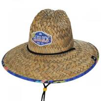 Wildcat Straw Lifeguard Hat