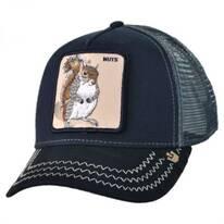 Squirrel Nuts Mesh Trucker Snapback Baseball Cap
