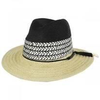 Kitts Toyo Straw Safari Fedora Hat