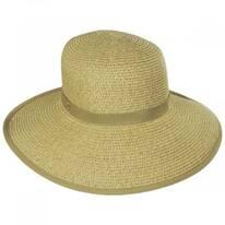 Toast Tan Toyo Straw Braid Facesaver Hat