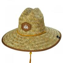 Adobe Straw Lifeguard Hat