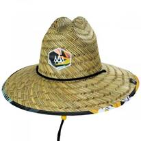 Bermuda Straw Lifeguard Hat