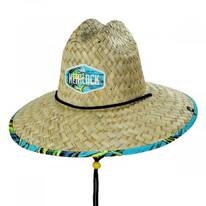Dorado Straw Lifeguard Hat