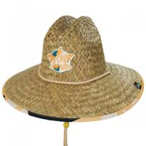 Grandview Straw Lifeguard Hat