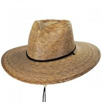 Passion Heart Palm Straw Outback Hat