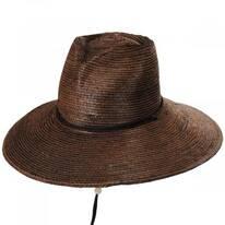 Desire Heart Palm Straw Lifeguard Hat