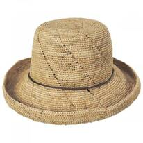 Lana Crocheted Raffia Straw Sun Hat