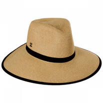 Tori Braided Toyo Blend Facesaver Hat