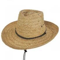 Tacoma Raffia Straw Outback Hat