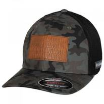 Tree Flag Camouflage Mesh Flexfit Fitted Baseball Cap