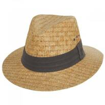 Reef Matte Toyo Straw Safari Fedora Hat