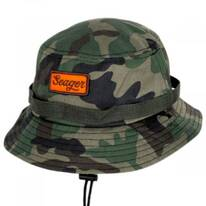 The Chum Cotton Canvas Bucket Hat