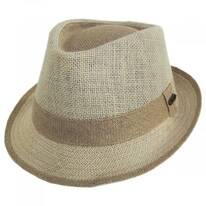 Clear Creek Linen Trilby Fedora Hat
