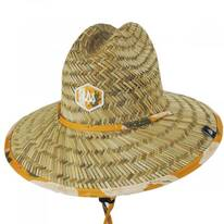 Kids' Lima Straw Lifeguard Hat