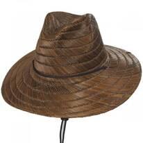 Bells Toffee Rush Straw Lifeguard Hat