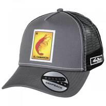 Loteria El Camaron Trucker Snapback Baseball Cap
