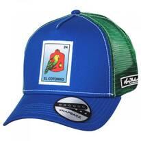 Loteria El Cotorro Trucker Snapback Baseball Cap