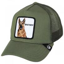 German Shepherd Mesh Trucker Snapback Baseball Cap