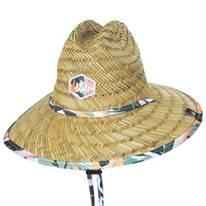 Kids' Bloom Straw Lifeguard Hat
