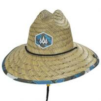 Sprout Straw Lifeguard Hat