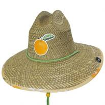Squeeze Straw Lifeguard Hat