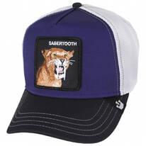 Sabertooth Mesh Trucker Snapback Baseball Cap
