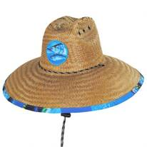 Tuna Coconut Straw Lifeguard Hat
