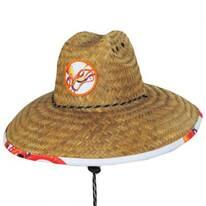 Octopus Coconut Straw Lifeguard Hat