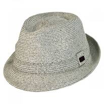 Billy Braided Toyo Straw Fedora Hat