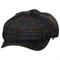 Mallalieus Tartan British Wool Newsboy Cap