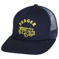 Bye-Son Cotton Blend Mesh Trucker Snapback Baseball Cap