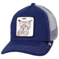Clean Cat Mesh Trucker Snapback Baseball Cap