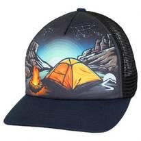 Campfire Trucker Snapback Baseball Cap