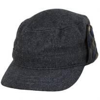 Mountain Time Radar Wool Blend Cap