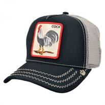 Cock Mesh Trucker Snapback Baseball Cap