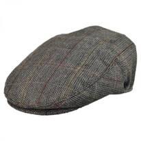 Tweed Wool Blend Ivy Cap