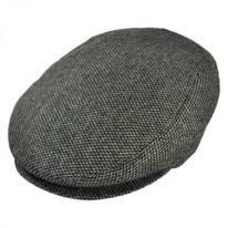 Roma Tickweave Wool Blend Ivy Cap