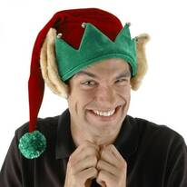 Elf Ears Stocking Hat